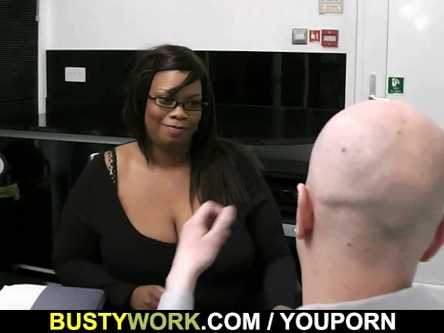 White dude doing heavy ebony BBW