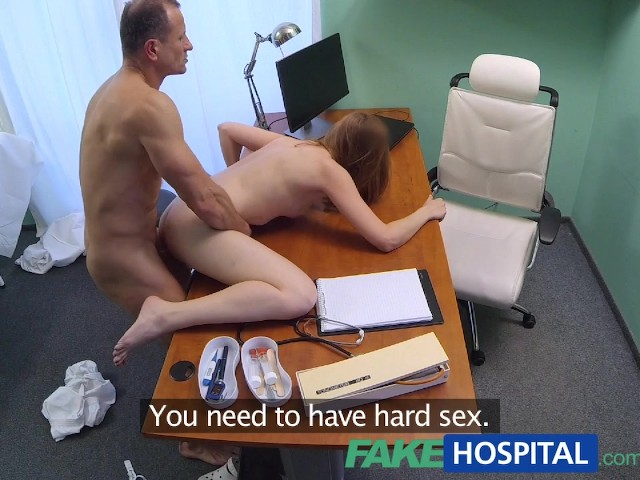 Fakehospital tight ebony pussy gets 2 cum loads from doctor 3