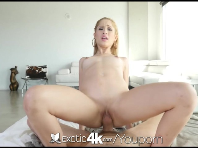 Exotic4K - Blonde latina Goldie takes a dick in her oiled pussy #292924