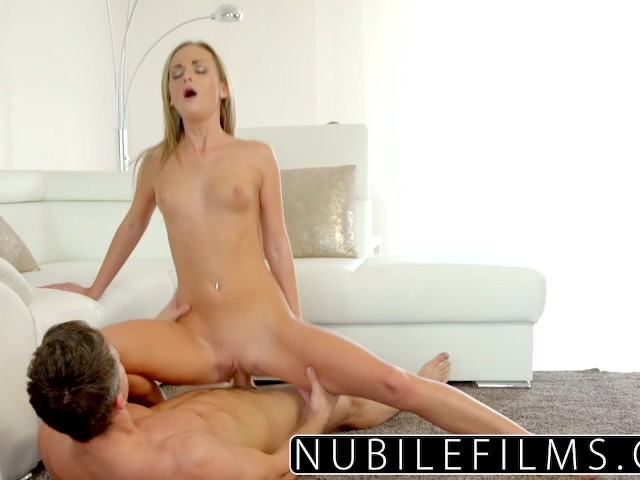 Nubilefilms - Bald Tight Pussy Gets Pounded by Hard Cock - Free Porn Videos  - YouPorn