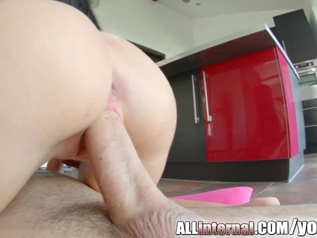 All internal april blue gets her incredible pussy creampie 4