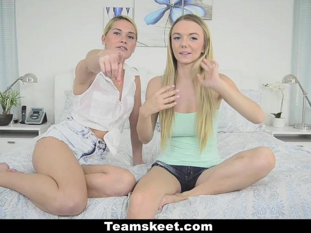 Dyked - Teen Best Friends Scissor On Webcam