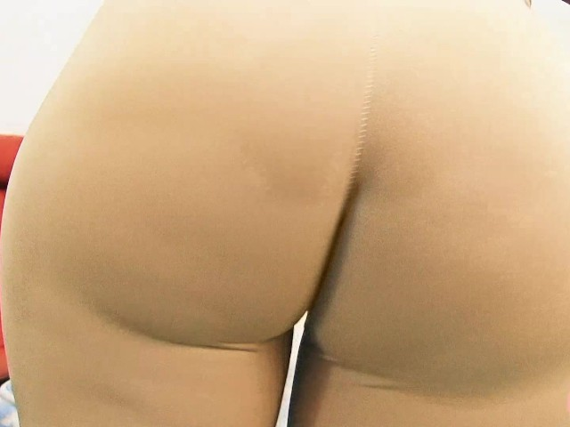 Huge Ass Tiny Waist Cameltoe In Tight Spandex And Thong -3009