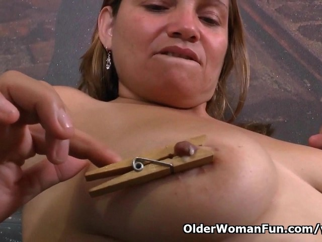 Latina milfs allison and rosaly need a masturbation break 2
