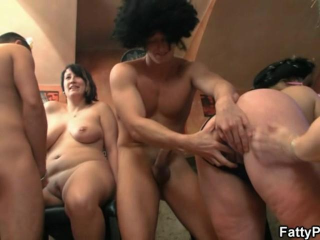 Drunk movie orgy sex