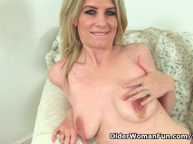 British milf ashleigh squeezes her leaking nipples - 1 part 1