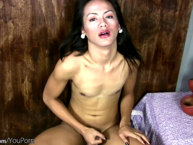 black shemale posing - Black Hair Femboy Poses Nude and Masturbates Shemale Penis - Free Porn  Videos - YouPorn