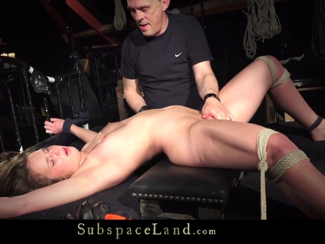 Domination Slave Game With Young Bondage Slave-Girl -9662