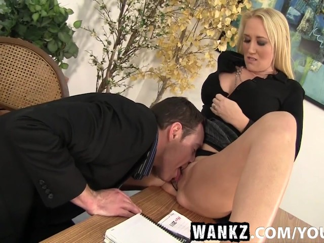 Wankz milf boss alana evans bent over the desk for a savage 6
