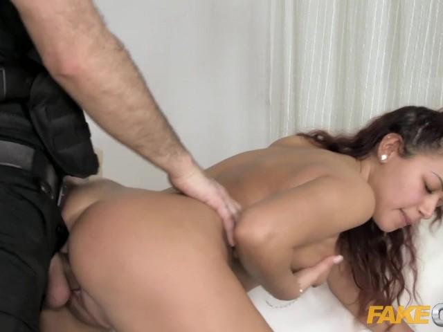 Fake cop uniformed policeman fucks cock hungry sluts 10