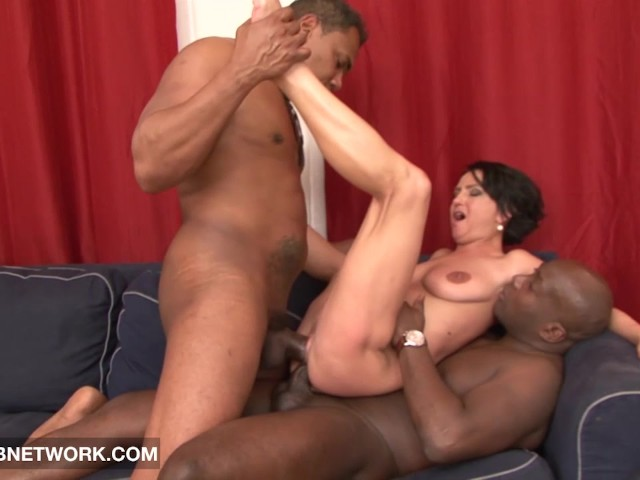 image Brutal big black cock weekend crew takes a
