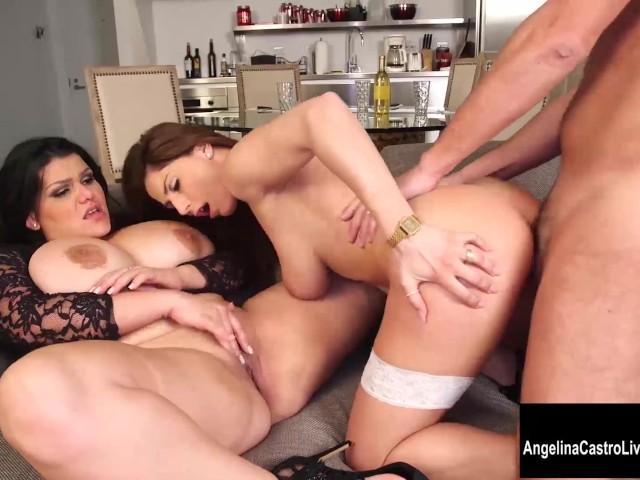 Paare, Weiblicher italienischer Pornostar Porno