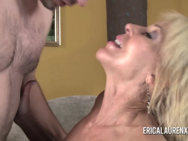 Mommybb young blond milf caughts her male fri