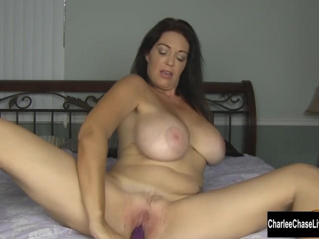 Big tit shower video