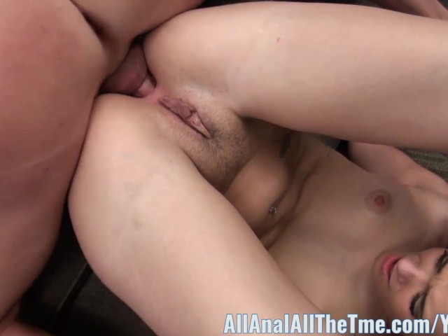 All Anal All The Time Teen Gia Paige Gets Anal Creampie -5545