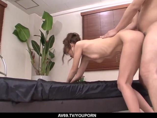 Rika Kurachi amazing hardcore sex and sperm on her big tits #1185513