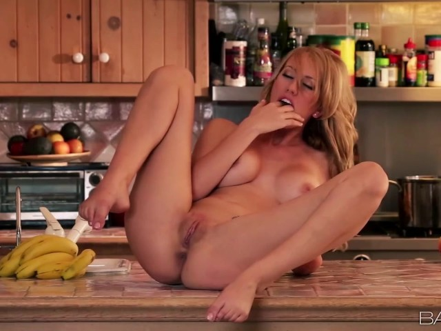 Brett rossi masturbates in the kitchen 6