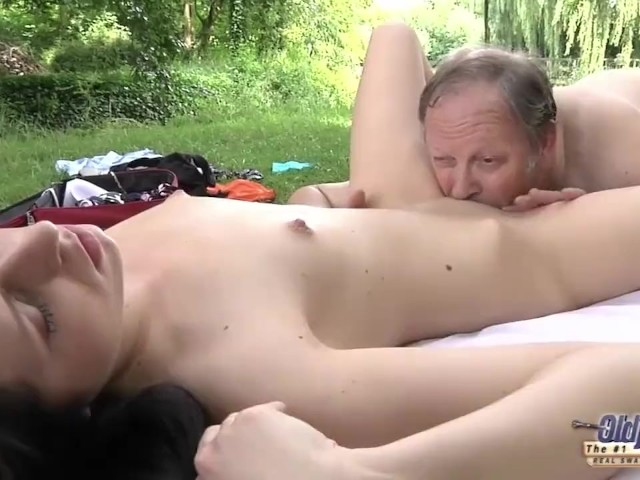 Old Young Romantic Sex Between Fat Old Man And Beautiful Teen Girl -4547