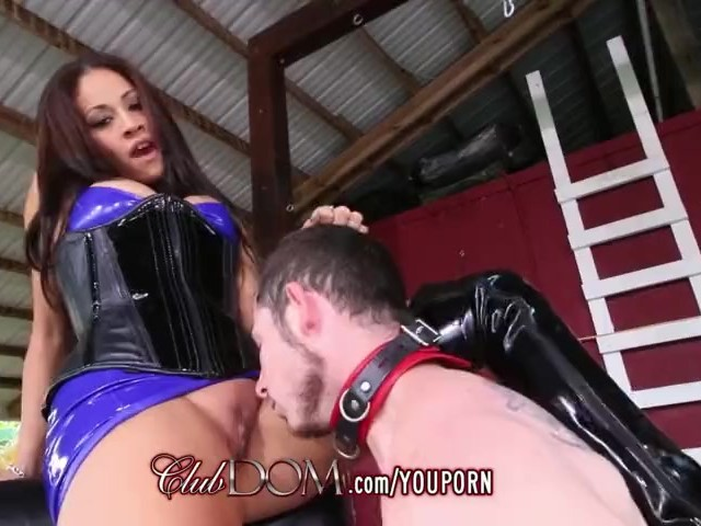 Femdom jamie demands you worship her ass 5