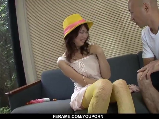 Naho Kojima Works Hard on Old Guyґs Dick During Complete Xxx