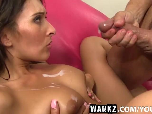 Wankz deanna dare gives exciting handjob 2