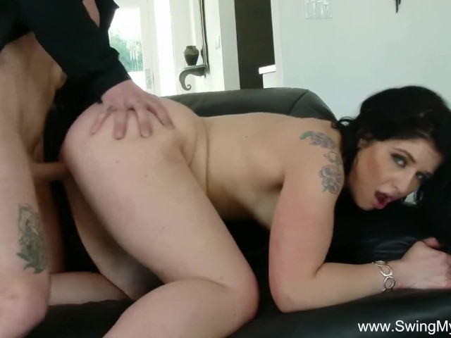 Thick cock spliting my wife pussy
