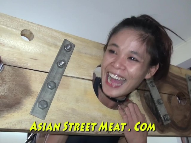 Sphincter ring gobble mouth bondage asia