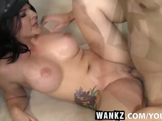 Wankz busty casey cumz beats parking ticket 4