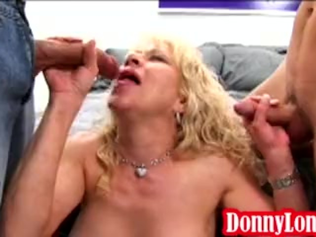 Donny Long and Friend Teach Milf Mom a Lesson