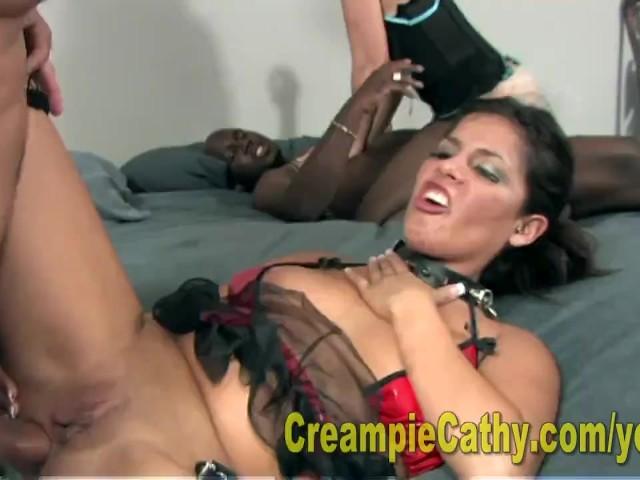 Cum on my big tit 1
