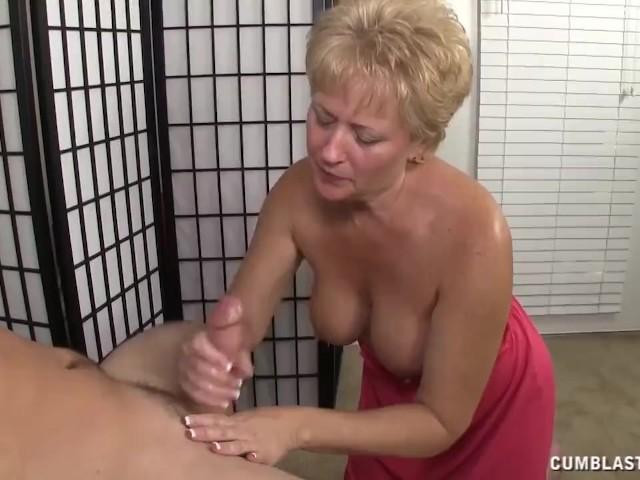 busty milf handjob video - Busty milf handjob