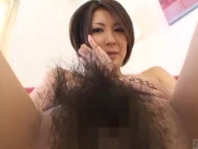 Subtitled Japanese Amateur Perfect Bush Naked Body Check -4397