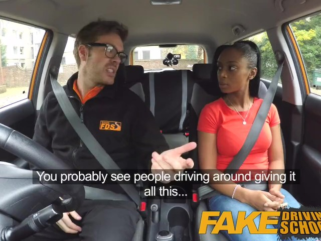 image Fake driving school learners post lesson horny orgasm fuck session