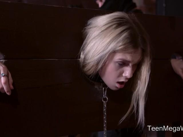 Anal-Beauty.com - Alecia Fox - Dude fucks tied up slave