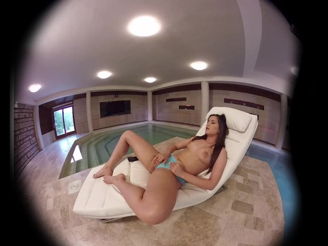 Virtualporndesire tv by the pool 180 vr 60 fps 8