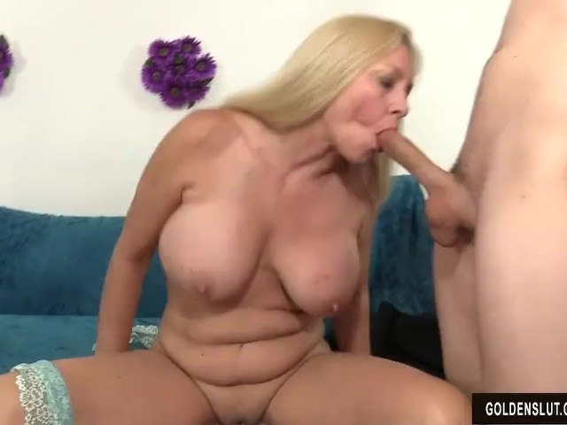 Mature woman cala craves seduces boy