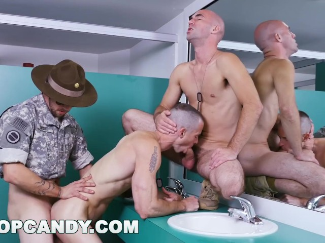 Drill sargent want his cock sucked right — 5