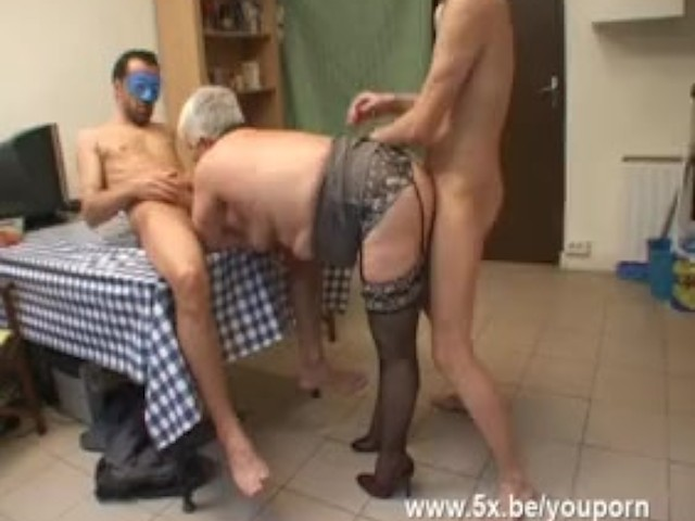 Husband watches wife get gangbanged