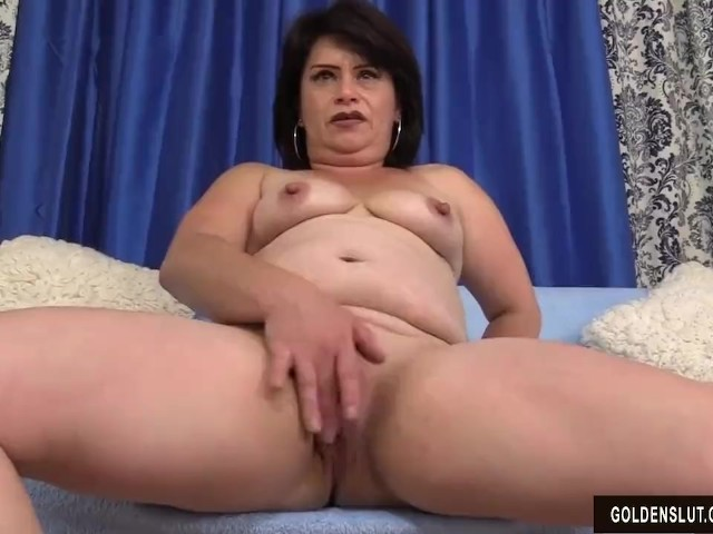 Raven amateur toying with cock