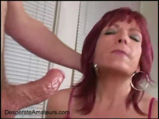 See her suck him for the first time