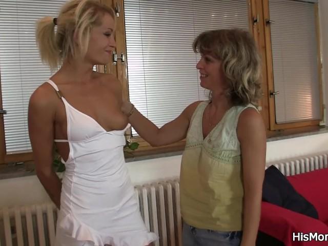 Messy lesbian femdom bondage facesitting