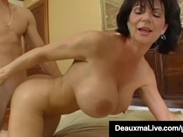 Texas cougar deauxma watches as sally dangelo bangs hubby 5