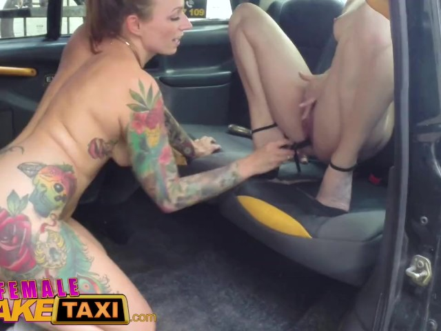 Fake taxi bisexual blondes hot revenge fuck on taxi bonnet 3