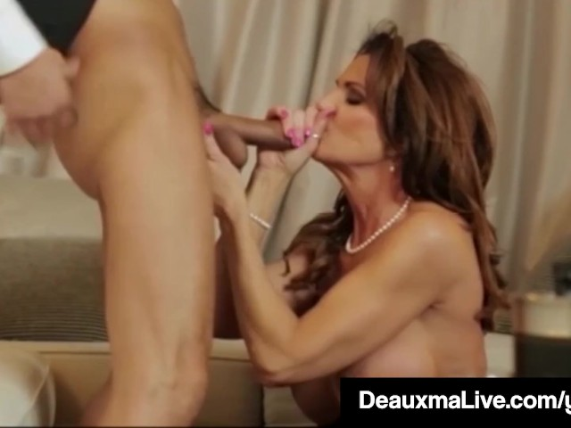 Texas cougar deauxma watches as sally dangelo bangs hubby 8