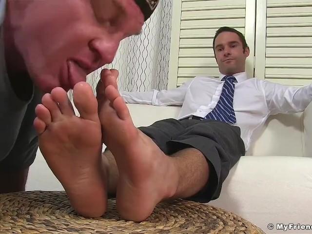 Dominant Yuppie Cameron Kincade Enjoys Being Foot Worshipped