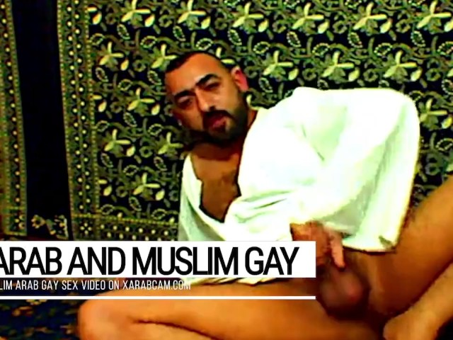 Arab Gay Vicious, Muslim Libyan Jerking Off And Cumming On Prayer Carpet After Islamic Devotion -6584