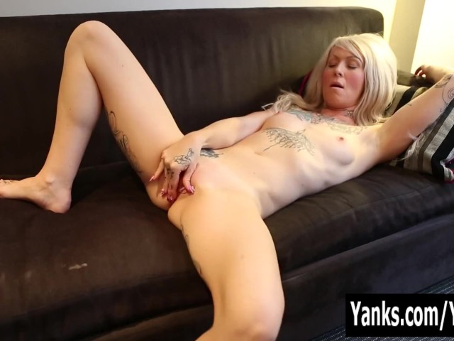 Yanks tattooed gina cherie exhausts herself