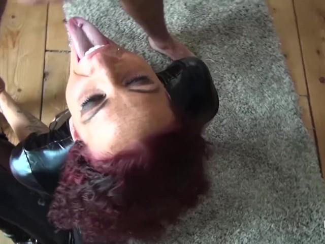 Amazing tits amsterdam bukakke latex cumshower 2