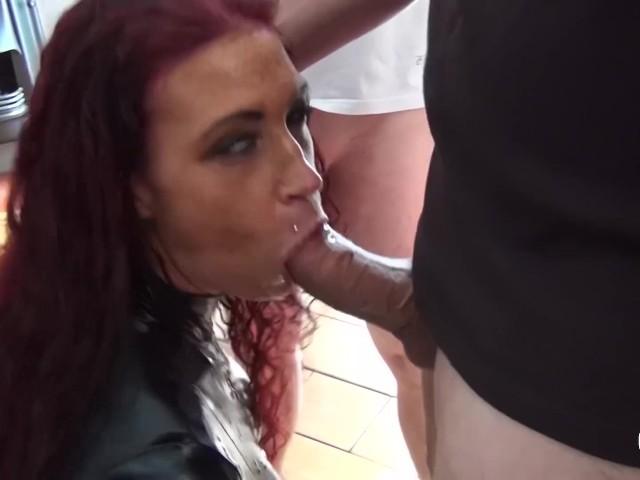 Amazing tits amsterdam bukakke latex cumshower 10