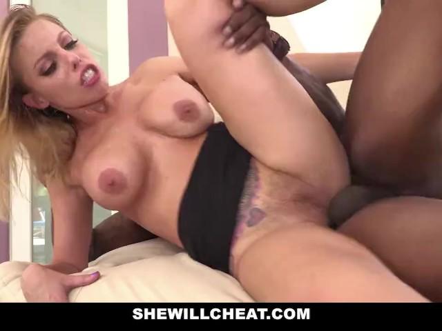 SheWillCheat - Slut Wife Britney Amber fucks famous football players BBC #1214168